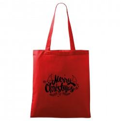 Červená taška Merry Christmas