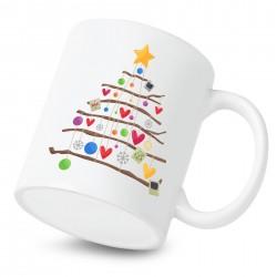 Hrnček Vianočný stromček
