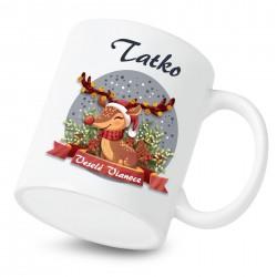 Hrnček Veselé Vianoce so sobíkom Tatko