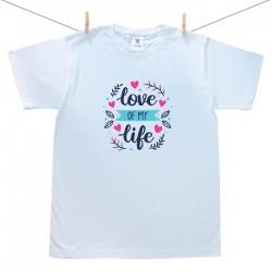 Pánske tričko s krátkym rukávom Love of my life