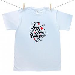 Pánske tričko s krátkym rukávom Love you forever