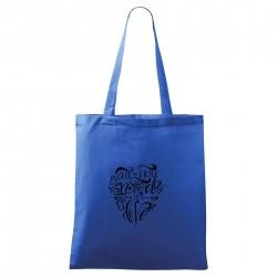 Modrá taška All you need is love