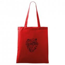 Červená taška All you need is love