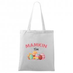 Biela taška Mamkin tím