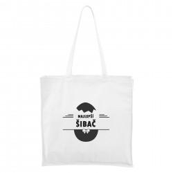 Biela Maxi taška Najlepší šibač