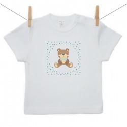Tričko s krátkym rukávom Medvedík Chlapec