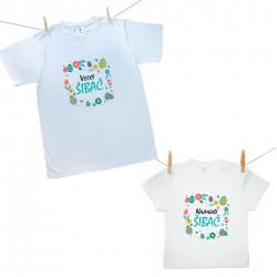 Rodinná sada (tričko s krátkym rukávom) Najmenší a Veľký šibač